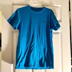 Under Armor blue T-shirt medium chest: 18 in